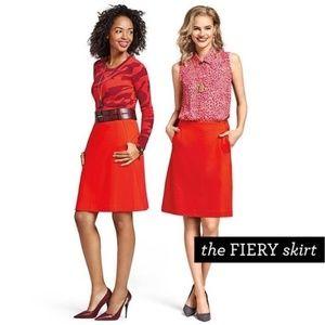CAbi Fiery Skirt Size 10